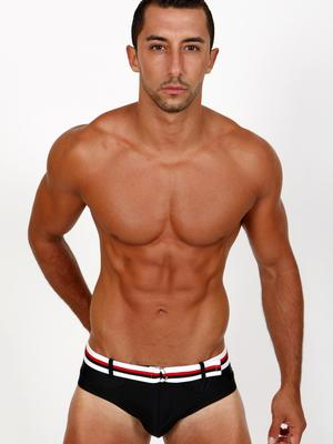Pistol Pete Aero Brief Black