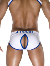 4 Hunks Brief Slash Bottomless B
