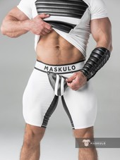 Maskulo Men's Fetish Shorts Codp