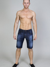 Timoteo Ryan Denim Short Indigo