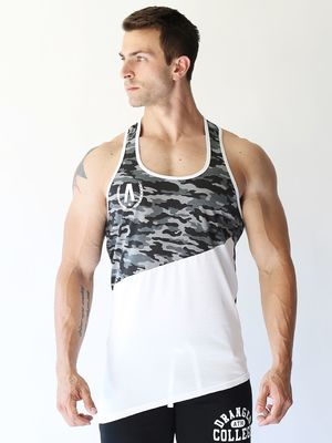 DRANGED ALPHA ARMY A-SYM VEST Camo/White