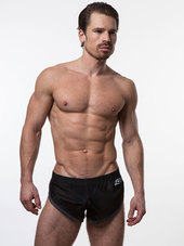 N2N EURO SPLIT SHORT Black
