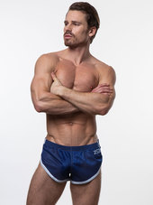 N2N EURO SPLIT SHORT Navy