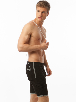 N2N GYM BOY SLIM Short Black