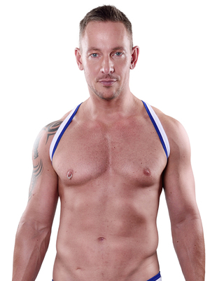 4 HUNKS Harness Uwe White