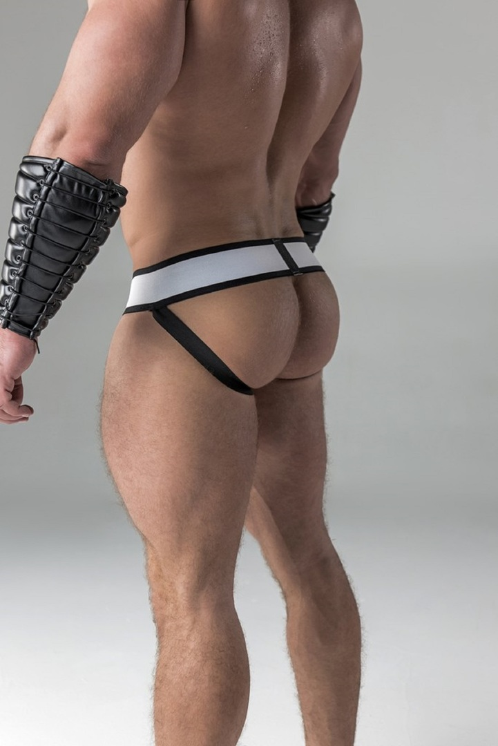 Maskulo Men S Fetish Jockstrap Detachable Codpiece Royal