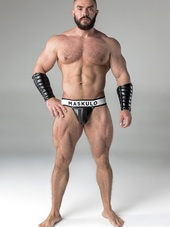 Maskulo Men's Fetish Jockstrap D
