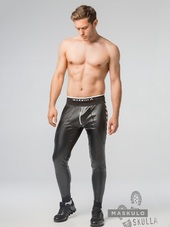 MASKULO Skulla. Men's Fetish Lea