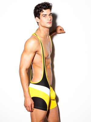 N2N PX Performance Singlet Yellow