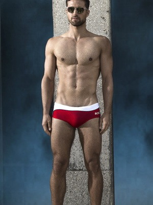 BCNU Ipanema (Sanga) Swim Brief Scarlet