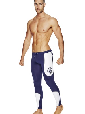 BCNU Hench Super-Cool Running Pants Navy
