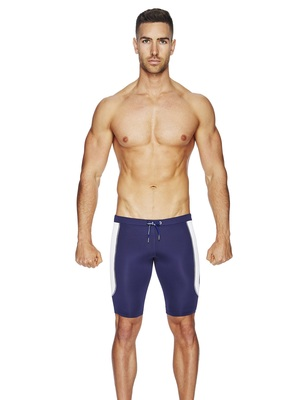 BCNU Hench Super-Cool Running Shorts Navy