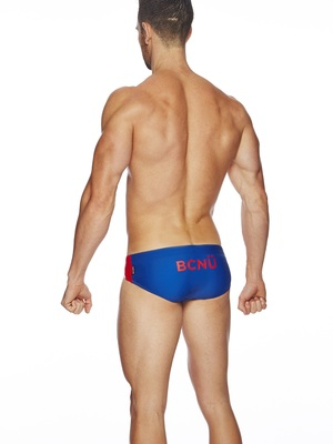 BCNU Playa Low-Rise Swim Brief Yale Blue