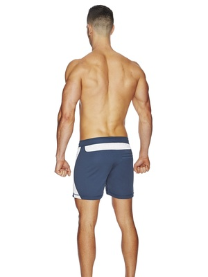 BCNU Varsity Athletic Short Indigo