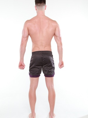 BCNU Rugger Athletic Short Charcoal