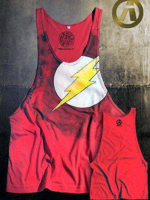 Aerosol Flash Red Tank-Top