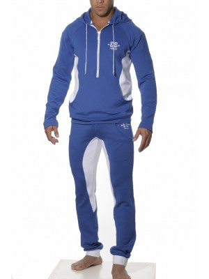 ES Casual Hooded Sweat Jacket Royal