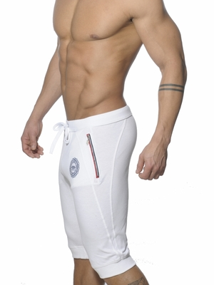 ES Collection Pique Lenght Pant White