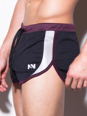 N2N Sport Split Short Black