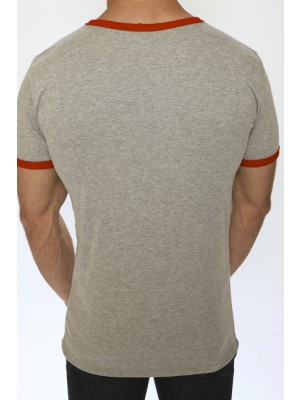 Pistol Pete Sportivo V-Neck Grey