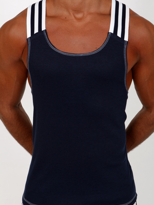 Pistol Pete Axion Tank Navy
