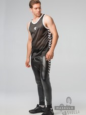 MASKULO Skulla Men's Fetish Tank