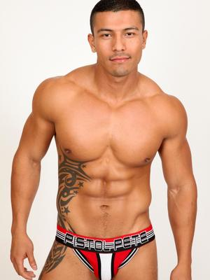 Pistol Pete Velocity Brief Red 225