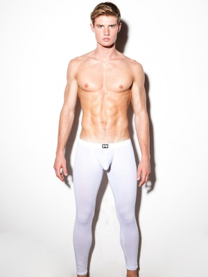 N2N Classic Cotton Long John White