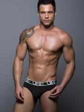 Andrew Christian Vibe Brief Blac