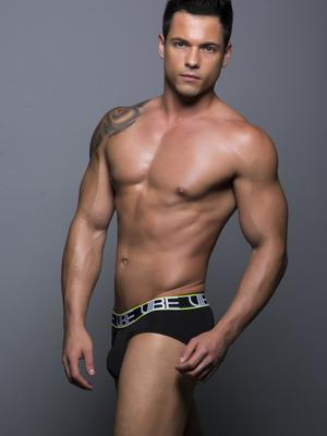 Andrew Christian Vibe Brief Black