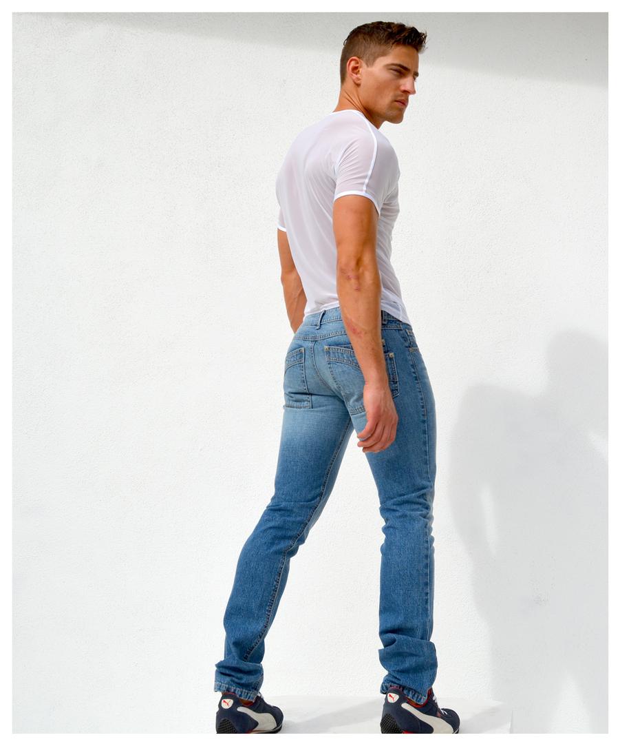Cut Up Jeans For Men